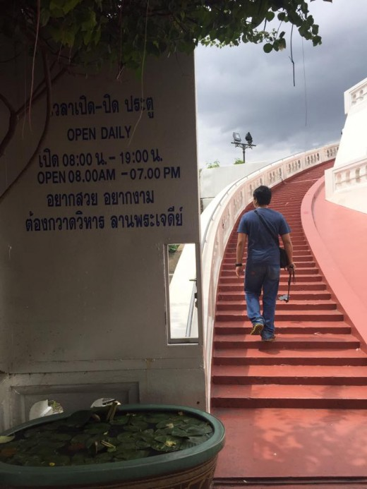 A Visit to the Wat Saket (Golden Mount): The tourist spot is open 8 AM to 7 PM.
