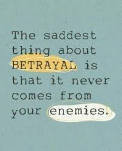 Betrayed by a Friend? How to Deal With Betrayal.