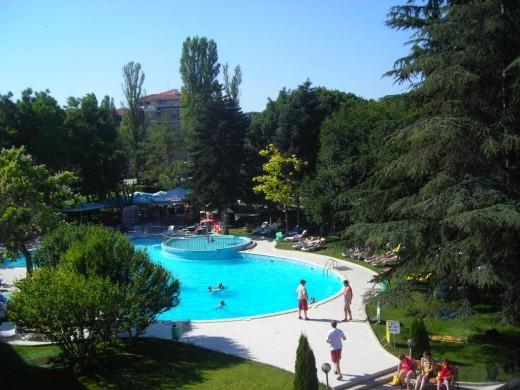 Swimming Pool at Hotel Koral St Konstantine, Bulgaria