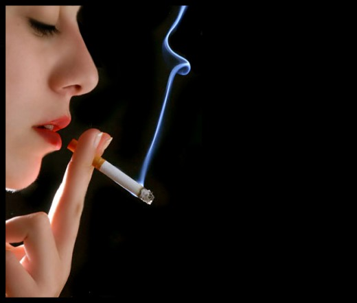 smoking is cool but leads to bad breath - Natural cure for bad breath