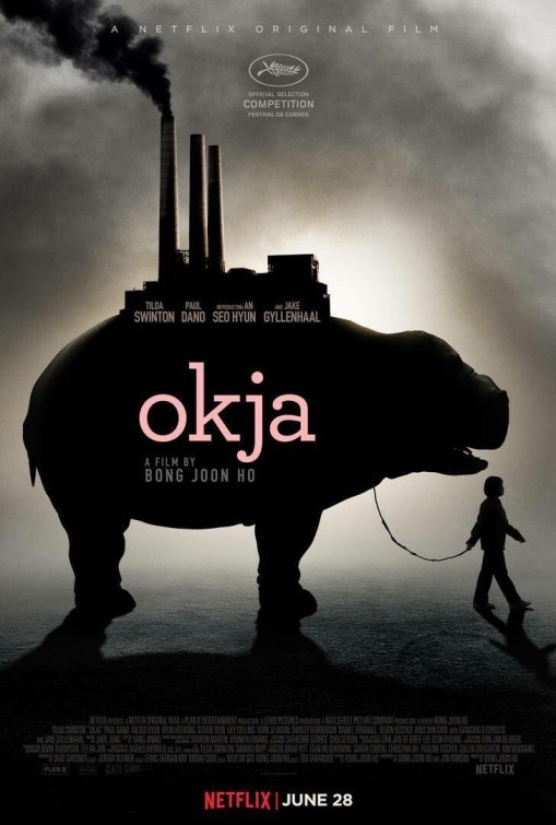 The Okja Poster from Netflix Originals