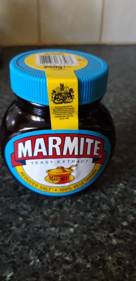 Marmite - good! Reduced salt - even better!