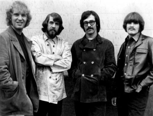 May 1971. ). L-R: Tom Fogerty, Doug Clifford, Stu Cook, and John Fogerty.