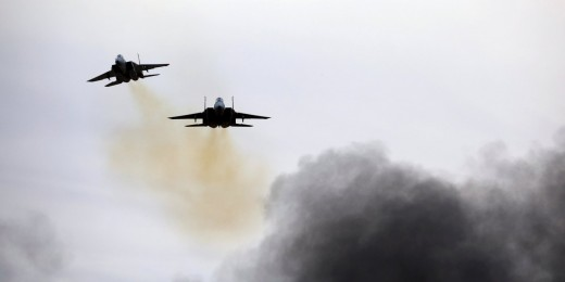 IDF jets over Iraq