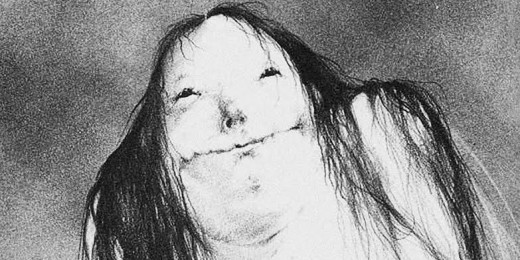 The Pale Lady from Scary Stories to Tell in the Dark