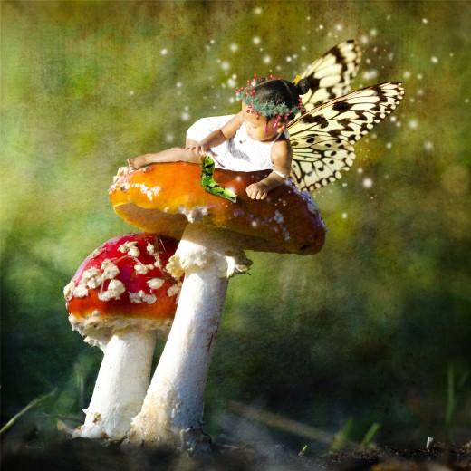 Reclining Fairy