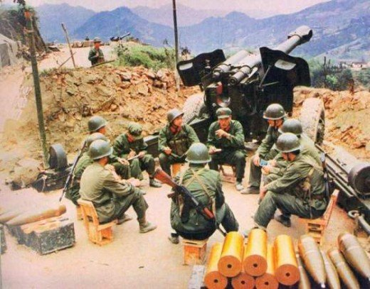 The Chinese-Vietnamese war saw both sides lose large numbers of troops and be engaged in a not-so-cold cold war for years after 1979.