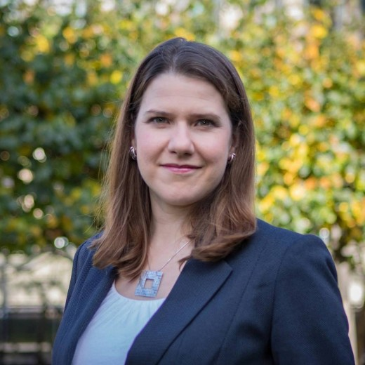 Lid-Dem leader: Jo Swinson,