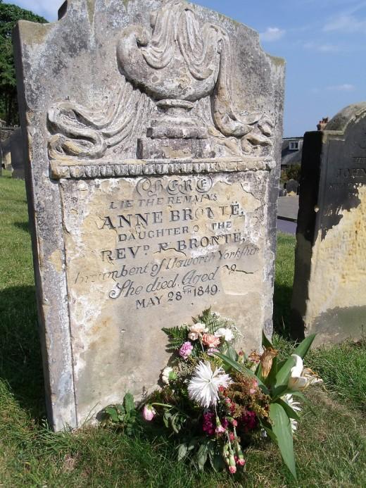 Grave of Anne Bronte