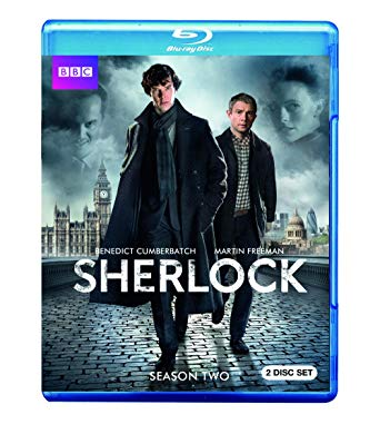 BBC's Sherlock Series 2 Blu-ray cover.