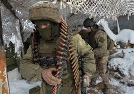 Unmarked Russian soldiers in Ukraine