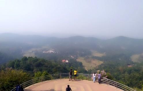 Rajah seat in Madikeri of South India