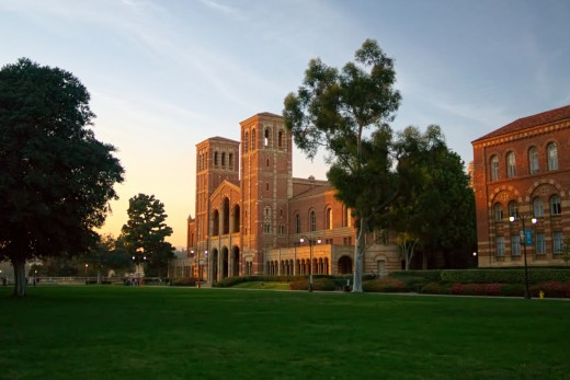 Royce Hall is the defining image of UCLA.