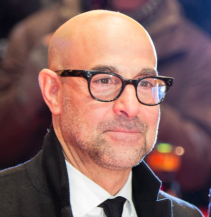 Stanley Tucci, looking good.