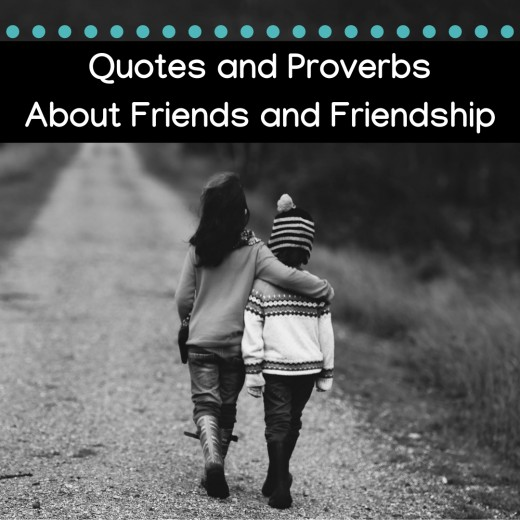 Best Friend Quotes and Proverbs About Friendship | Holidappy