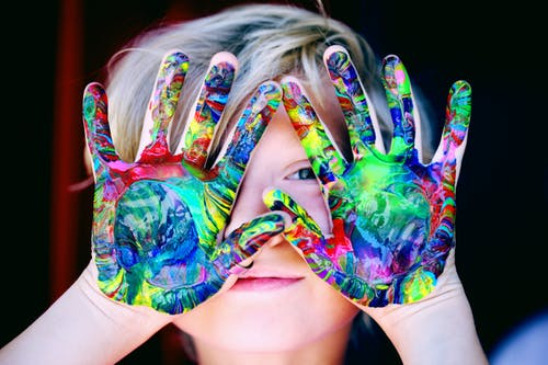 hand painting