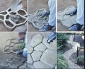 How-to Lay a Concrete Paver Stone Walkway on a Budget