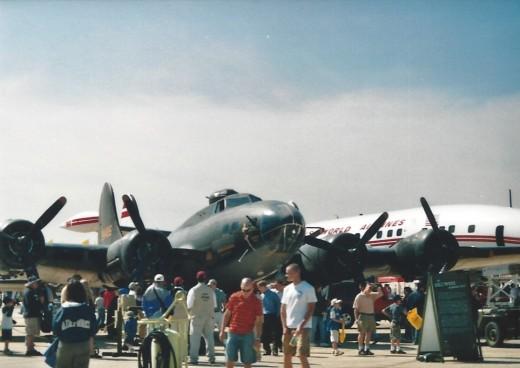A B-17 at Andrews AFB, May 2005
