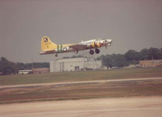 B--17 at Andrews AFB