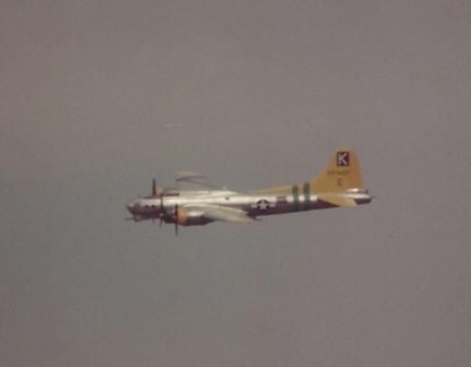 B-17 at Andrews AFB