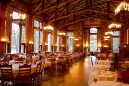 A picture-perfect wedding reception hall