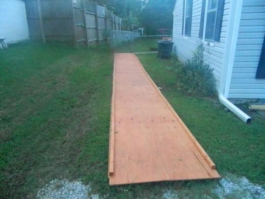 My boardwalk.