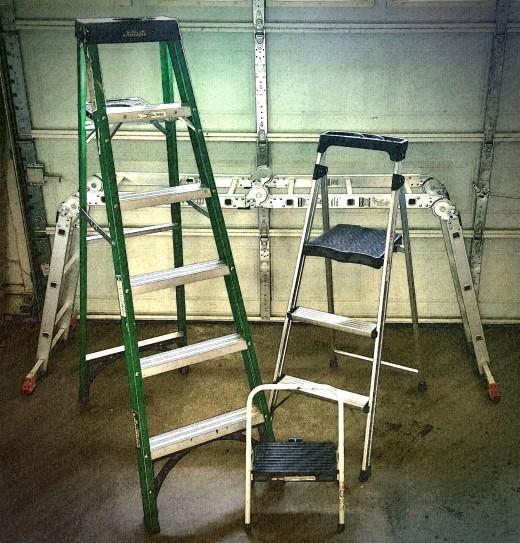 Multiple Sized Ladders