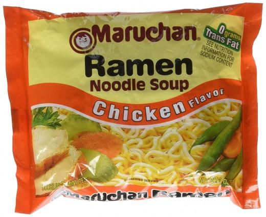 Maruchan Ramen noodles