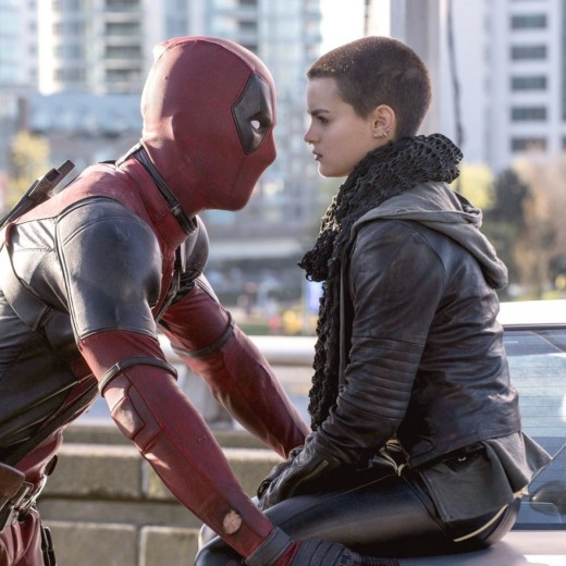 Courtesy of 20th Century Fox.  Deadpool and Teenage Negasonic Warhead play off the classic cynism that postmodernism is known for in 2016's Deadpool