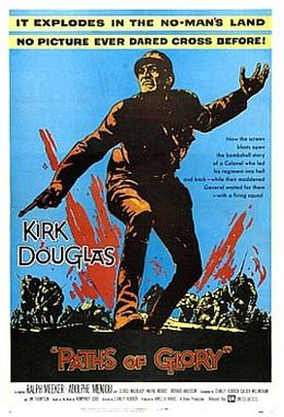 Paths of Glory Theatrical Film Poster