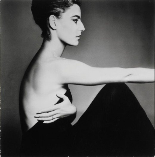 Richard Avedon, Antonella Agnelli, Hair by Kenneth, 1961, Gelatin silver print, 7 9/16 x 7 ½ in. The Museum of Fine Arts, Houston. © The Richard Avedon Foundation