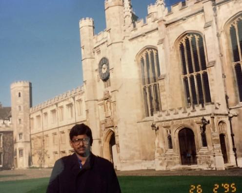At Cambridge University