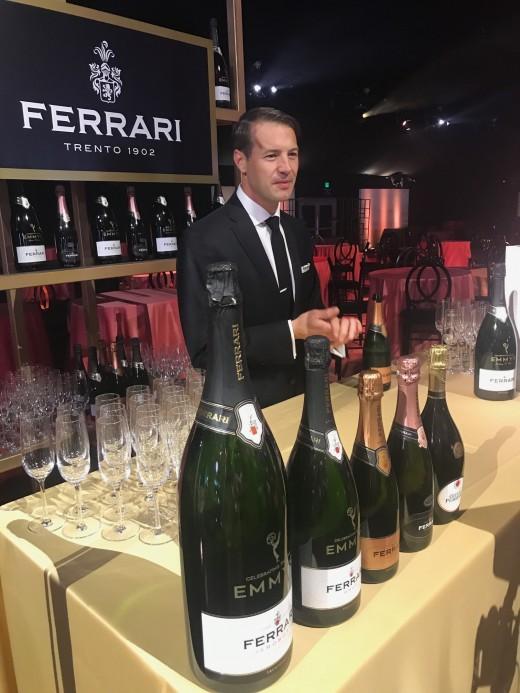 Sipping Sparkling Ferrari Trento