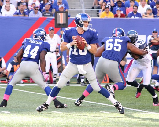 Eli Manning Against the Seattle Seahawks, 2011 Championship Season