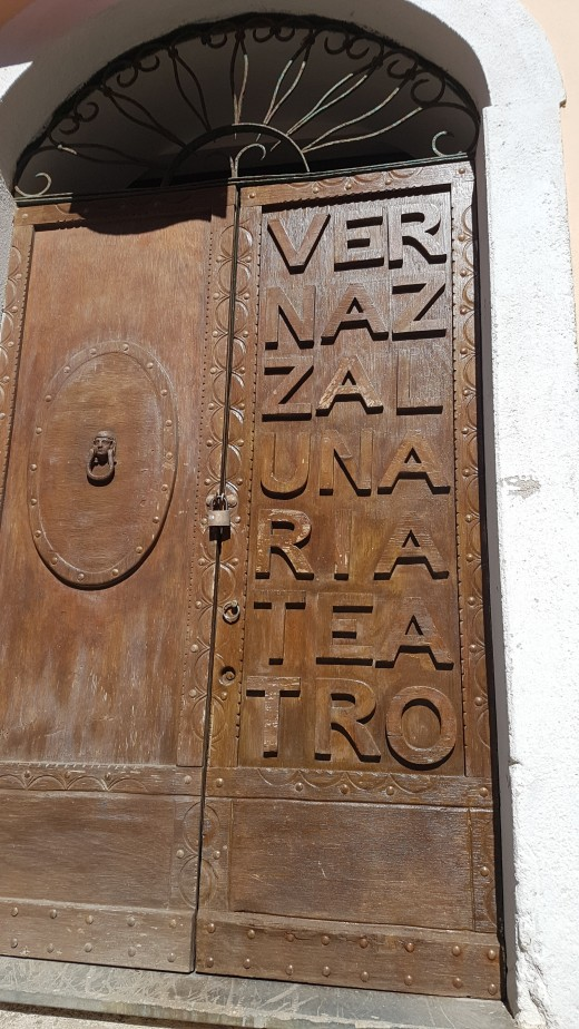The Old Housedoor in Vernazza