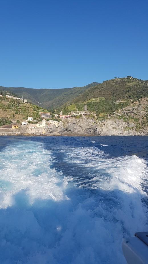 Boat Tour Vernazza, Cinque Terre