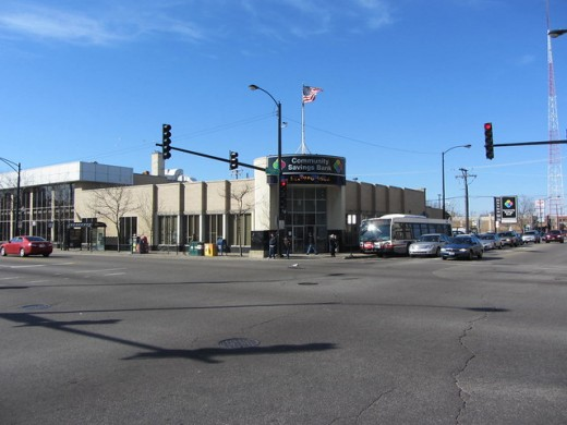 The corner of Cicero and Belmont Avenues in Chicago's Belmont Cragin community