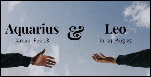 Leo and Aquarius Compatibility: Why These Signs Are Attracted to Each Other