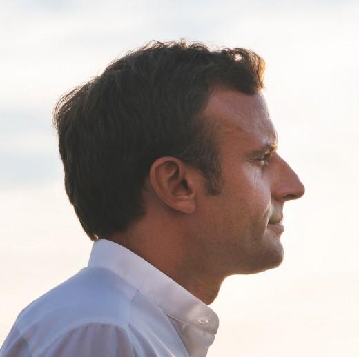 Emmnuel Macron.