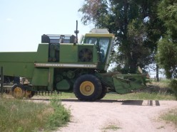 Wheat Harvest on a Colorado Farm, July 2009: Photos and Story Detailing What Happens