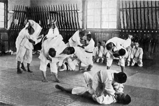 Not something that I would have thought of as being related at all to Germany, Germans managed to draw parallels between Jiu Jitsu and their own traditions to render it authentically German.