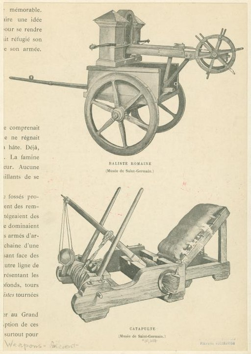 Roman Ballista & Catapult Attribution: Armand Dayot (1911)