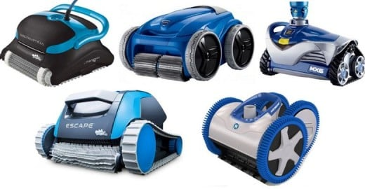 Common Models of Robotic  Pool Cleaners