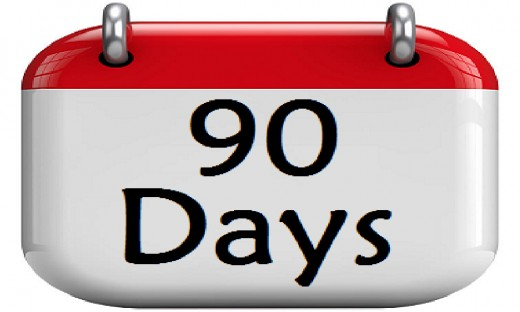 Applying for Schengen VISA 90 days before travel date is recommended