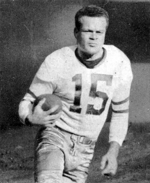 Eagles halfback Steve Van Buren led the Eagles to their first winning season in 1944