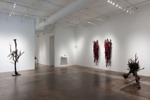 Cris Worley Fine Arts Sherry Owens: Tied to This World, Installation Shot