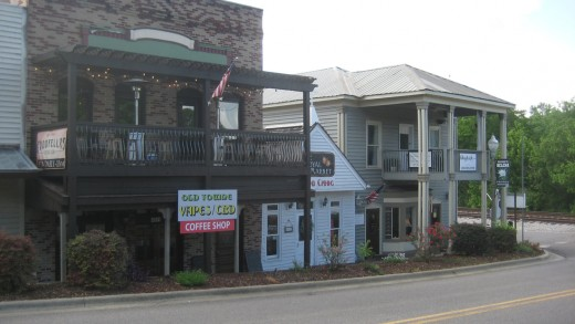 Main street as it looks today