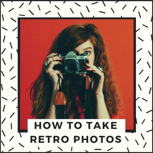 How to Take Retro Photographs (Film Camera Basics for Beginners)