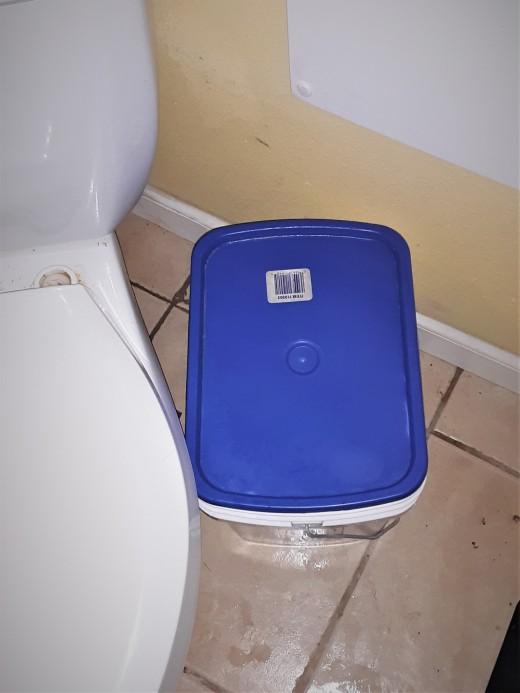 Toilet Cloth Bucket