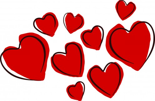 Hearts are the most direct representation of the feeling called love.